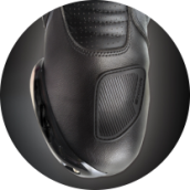 Gear shift pad - RSX-6 BLACK