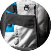 WATERPROOF CARGO POCKETS - HORIZON