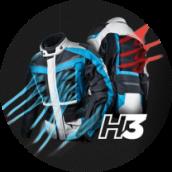System wentylacji H3 HEAT FREE SYSTEM - HORIZON