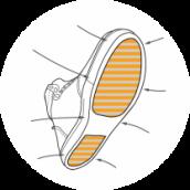 REINFORCED SOLE