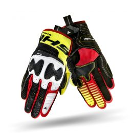 Black/Red/Yellow fluo